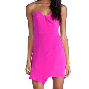 NAVEN Hot Pink Designer Heartbreaker Dress XS